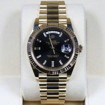 Rolex Day-Date 40 Yellow gold 40mm Black No numerals United States of America, California, Newport Beach CA