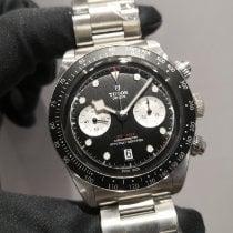 Tudor Black Bay Chrono Steel 41mm Black No numerals Malaysia