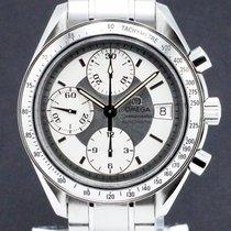 Omega Speedmaster Date tweedehands 39mm Zilver Chronograaf Datum Staal