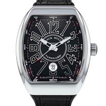 Franck Muller Vanguard Steel 50mm Black Arabic numerals