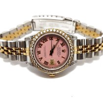 Rolex Lady-Datejust Gold/Steel 26mm Pink Roman numerals United States of America, California, Sylmar