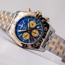 Breitling Chronomat 44 GMT Gold/Steel 44mm Blue