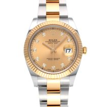 Rolex 126333G Steel 2016 Datejust 41mm pre-owned