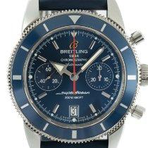 Breitling Superocean Heritage Chronograph Acero 44mm Azul