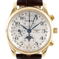 Longines Master Collection Yellow gold 40mm Silver