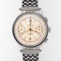 Rolex Chronograph Stahl Silber Arabisch Schweiz, Zurich