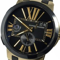 Ulysse Nardin Executive Dual Time 246-00-3/42 Very good Rose gold 43mm Automatic