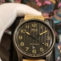 Mido Multifort Steel 44mm Black Arabic numerals United States of America, Michigan, Oak Park