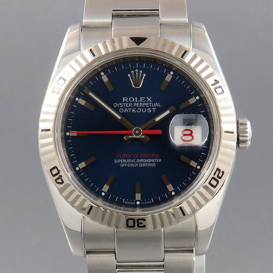 Rolex Datejust Turn-O-Graph 116264 2004 подержанные