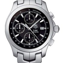 TAG Heuer Link Calibre 16 Steel 42mm Black United States of America, California, Simi Valley