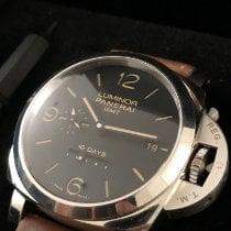 Panerai Luminor 1950 10 Days GMT Steel 44mm Black Arabic numerals United States of America, New York, Brooklyn