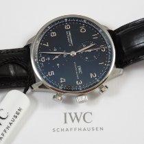 IWC Portugieser Chronograph neu Automatik Chronograph Uhr mit Original-Box und Original-Papieren IW371447