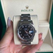 Rolex Oyster Perpetual Date Gold/Steel 34mm Black Arabic numerals UAE, Dubai