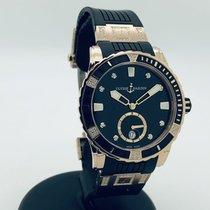 Ulysse Nardin Lady Diver Or rose 40mm Noir Sans chiffres