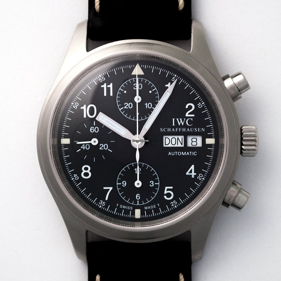 IWC 파일럿 크로노그래프 IW3706 Fliegerchronograph 중고시계