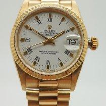 Rolex Datejust Oro amarillo 31mm Blanco Sin cifras