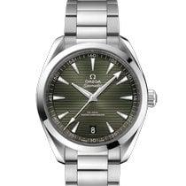 Omega Seamaster Aqua Terra Steel 41mm Green No numerals