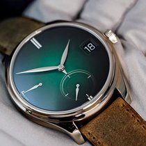 H.Moser & Cie. Endeavour White gold Green