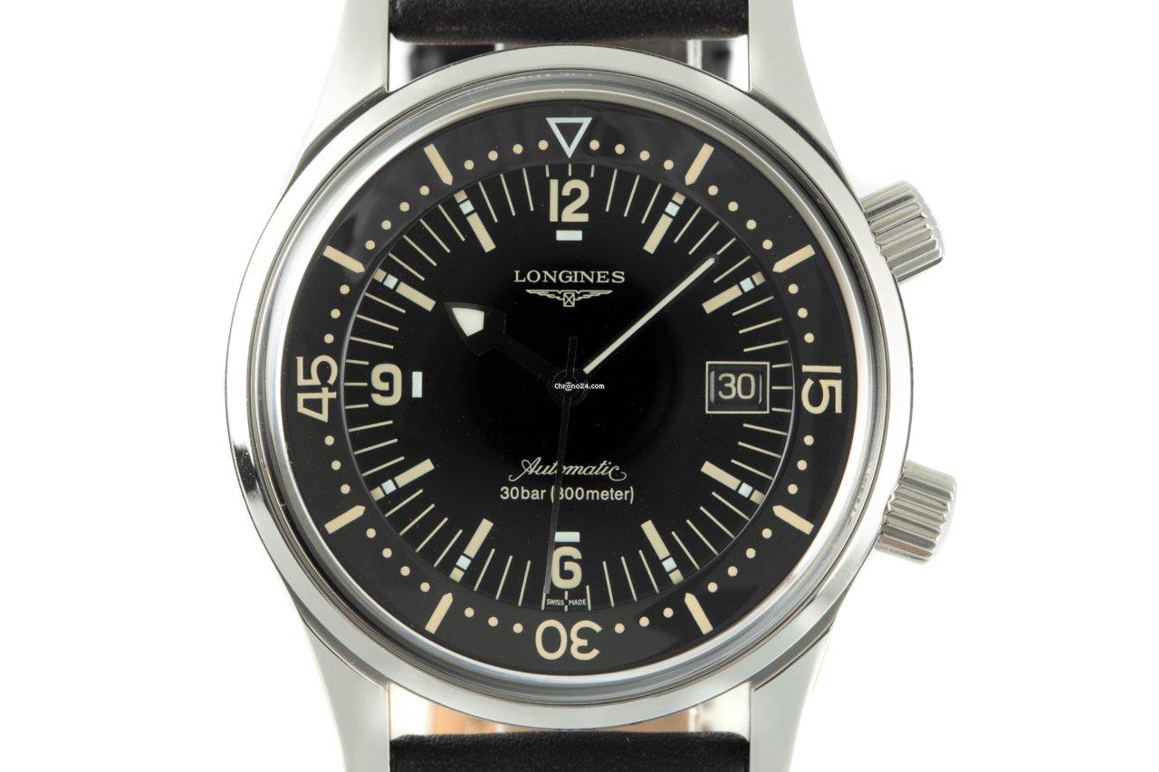 Longines Legend Diver L3.674.4 2012 pre-owned