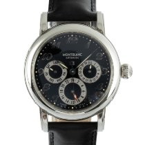 Montblanc Sport 7018 Very good Steel 38mm Automatic
