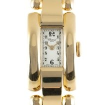 Chopard La Strada Žluté zlato 43mm Bílá