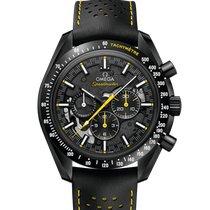 Omega Speedmaster Professional Moonwatch Cerámica 44.25mm Negro Sin cifras