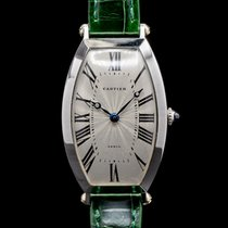Cartier Tonneau Платина 26mm Римские