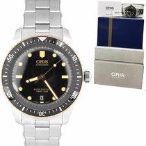 Oris Divers Sixty Five pre-owned 40mm Date Steel