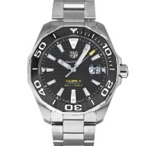 TAG Heuer Aquaracer 300M Steel 43mm Black No numerals United States of America, Maryland, Baltimore, MD