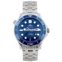 Omega Seamaster Diver 300 M Steel 42mm Blue No numerals United States of America, California, Fullerton