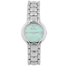 Ebel pre-owned Quartz 27mm Mother of pearl Sapphire crystal 3 ATM