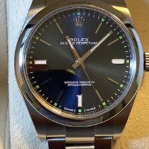 Rolex Oyster Perpetual 39 Steel 39mm Blue No numerals United States of America, Hawaii, Kailua