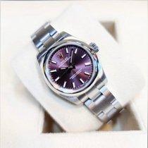 勞力士 Oyster Perpetual 26 鋼 26mm 紫色 阿拉伯數字 香港, North Point