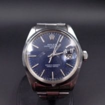 Rolex Oyster Perpetual Date Steel 34.50mm Blue United States of America, Connecticut, Greenwich