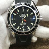 Omega Seamaster Planet Ocean Steel 45.5mm Black Arabic numerals United States of America, New York, New York