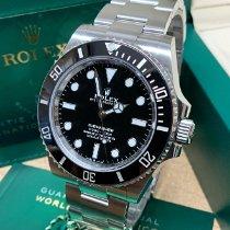 Rolex Submariner (No Date) новые 2021 Автоподзавод Часы с оригинальными документами и коробкой 124060