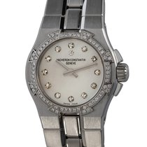 Vacheron Constantin Overseas pre-owned 24mm Mother of pearl