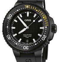Oris Aquis Date Titanium 49.5mm Black No numerals