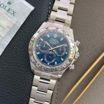 Rolex Daytona Witgoud 40mm Blauw Arabisch Nederland, Naarden