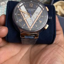 Louis Vuitton QA090 Very good Steel 46mm Automatic India, new delhi