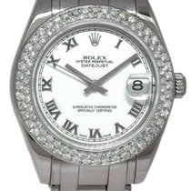 Rolex Lady-Datejust Pearlmaster White gold 29mm White Roman numerals United States of America, Florida, Boca Raton