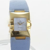 Omega Constellation Quartz Yellow gold Mother of pearl