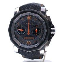 Corum Admiral's Cup Challenger nuevo 2010 Automático Reloj con estuche y documentos originales 753.935.06/0231 AK57