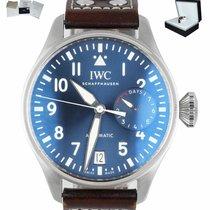 IWC Big Pilot Steel 46mm Blue Arabic numerals United States of America, New York, Smithtown