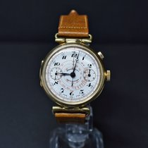 Eberhard & Co. Yellow gold Manual winding White Arabic numerals 39mm pre-owned