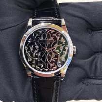Patek Philippe Calatrava Platinum 38mm Black No numerals