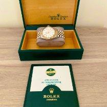 Rolex Datejust Ouro/Aço 36mm Branco Sem números Portugal, Albufeira