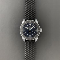 Breitling pre-owned Automatic 42mm Black Sapphire crystal 20 ATM