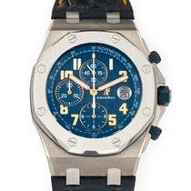 Audemars Piguet Royal Oak Offshore Chronograph Titanium Blue United States of America, Florida, Hollywood