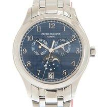 Patek Philippe Steel Automatic Blue Arabic numerals 38mm new Annual Calendar